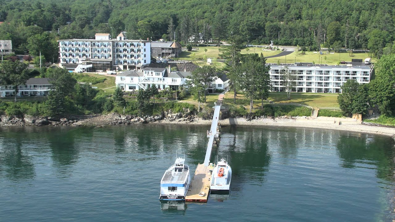 Bar Harbor Hotels See An Overview Of The Atlantic Oceanside Hotel In