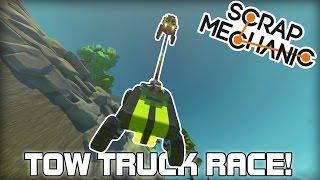 multiplayer tow truck racing? scrap mechanic 113