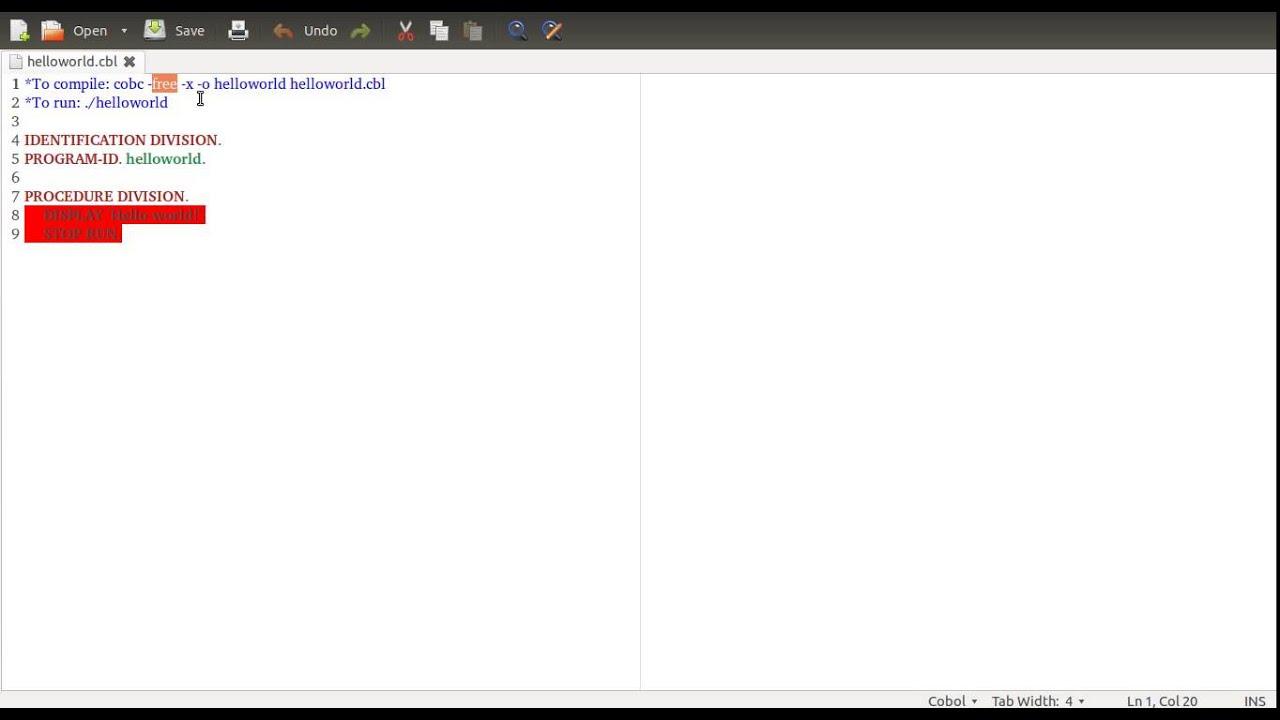 Installing open cobol windows compiler xilusmesh.