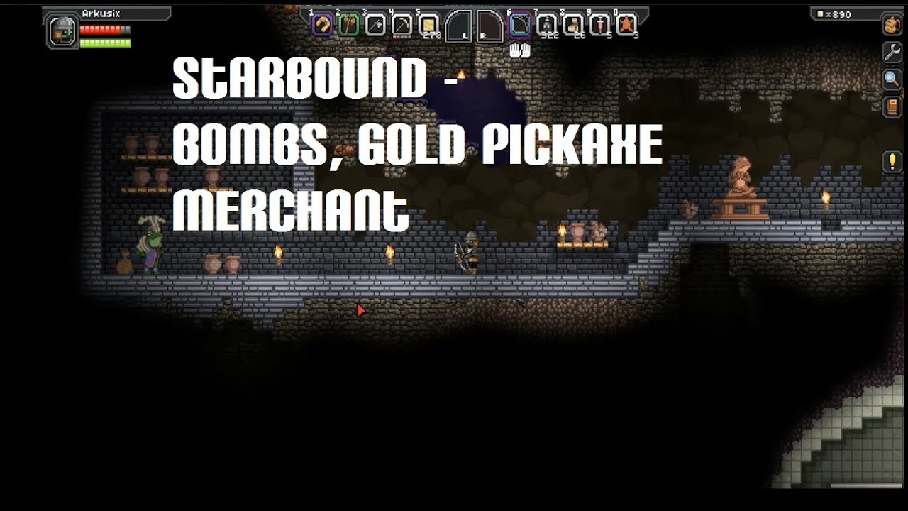 how to get the bomb merchant in terraria