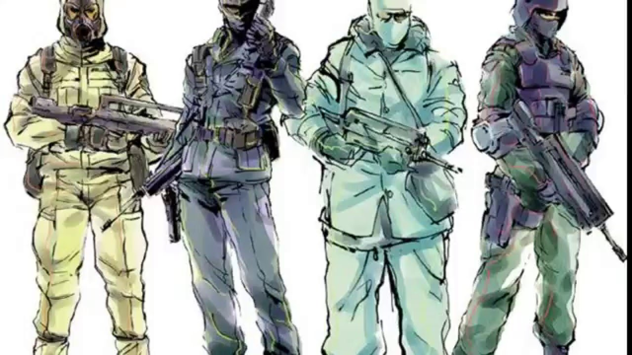Metal Gear Solid Concept Arts