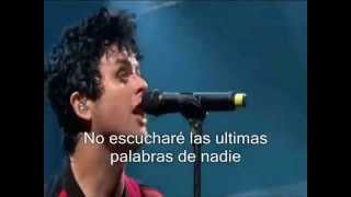 Green Day Having A Blast (subtitulada)