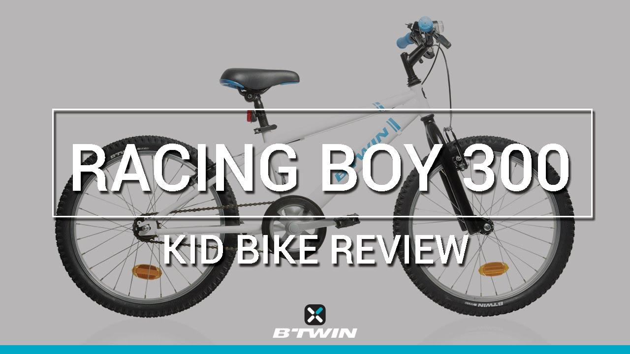 Kid bike racing boy 300 20 b 39 twin v lo enfant racing for Porte velo btwin 300