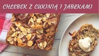 Gambar cover Chlebek z cukinii z jabłkami i migdałami! // Apple zucchini bread with almonds