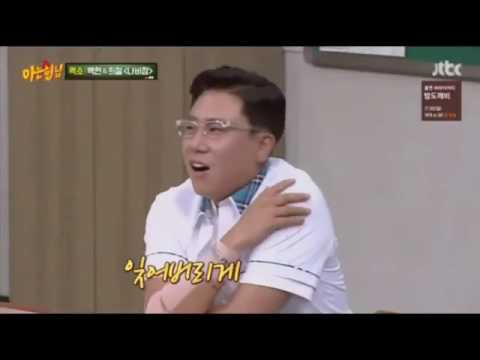 EXO (Baekhyun) singing very well 😍 at Knowing Brothers [cut]