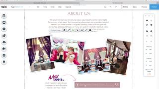 How to edit my new WIX site:  Change Images