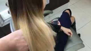Scolor#28 Окрашивание волос  омбре  Hair coloring ombre(, 2015-11-24T14:54:38.000Z)