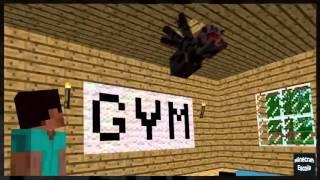 Minecraft Escola Monstro #06 : Fitness - Minecraft Animação Engraçado 2016