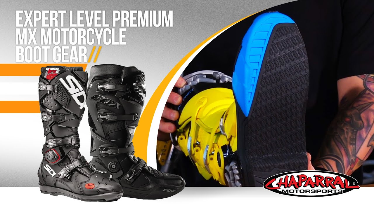 2016 Expert Level Premium Motorcycle Boot Gear Guide At