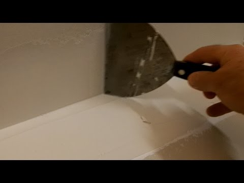 How to tape and finish an inside drywall corner.  A closer look.