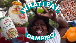 What I Eat Iฑ A Day: CAMPING EDITION 🏕️🌭 | #SmackYoLip