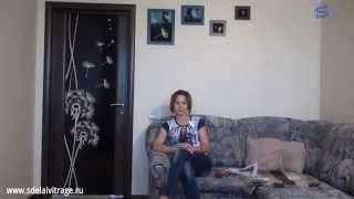 Декор межкомнатной двери своими руками(Больше уроков смотрите на сайте http://sdelaivitrage.ru/ Подписывайтесь на видео-канал