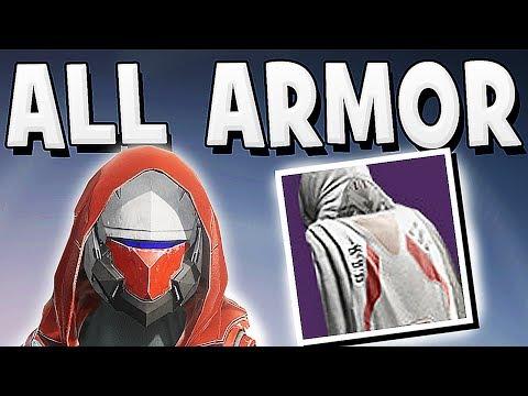 Destiny 2 - ALL ARMOR SETS IN BETA !!