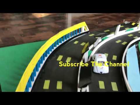 Advanced Highway Model | Road power Generation | roller barrier | solar system