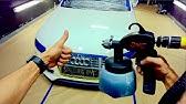 High Gloss Peelable Paint Professional Vs Earlex spray guns