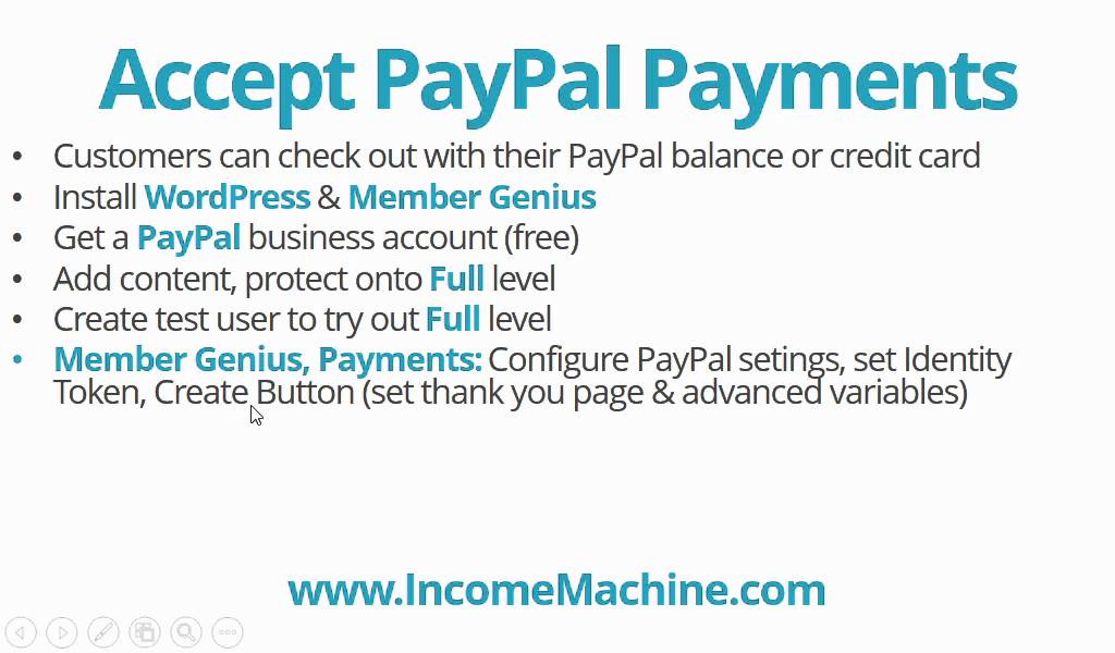 Accept PayPal Payments & Credit Cards for WordPress Membership Site ...