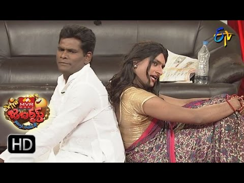 Chammak Chandra Performance | Extra Jabardsth | 17th March 2017| ETV  Telugu