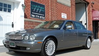 2006 Jaguar Vanden Plas XJ8 Walk-around Presentation at Louis Frank Motorcars, LLC in HD