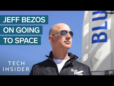 Jeff Bezos Reveals Why He's Spending Billions Of Dollars To Go To Space
