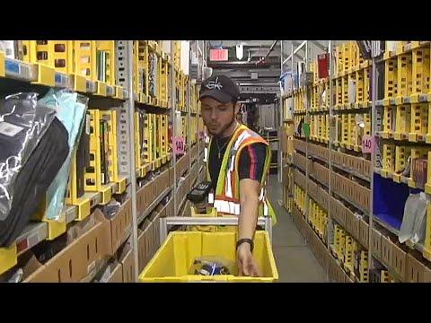 An Inside Look At An Amazon.com Fulfillment Center