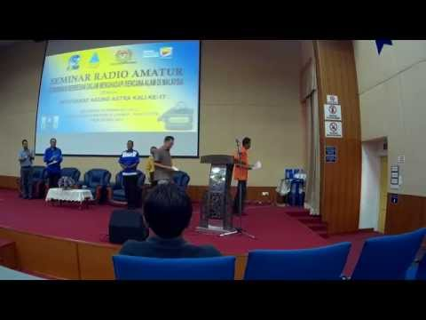 Majlis Perasmian Seminar Radio Amatur Dan AGM ASTRA Kali ke-17