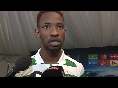 Celtic 3-3 Manchester City - Moussa Dembele Post Match Interview