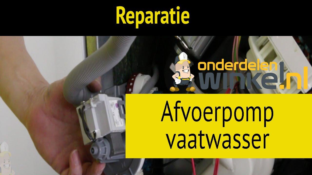 Fonkelnieuw Afvoerpomp van vaatwasser vervangen | Reparatie en Onderhoud AK-44