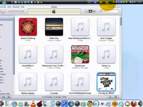 How to get itunes music to windows media player