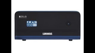 Luminous Zelio 1100 (900 VA) Sine Wave UPS Inverter+Battery (150 Ah) Review in Detail | Jitendra