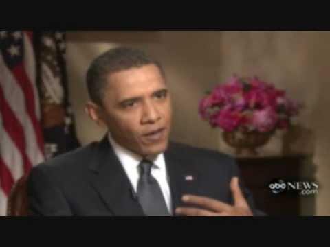 Obama ABC George Stephanopoulos interview, Obama blames Bush for MA senate loss