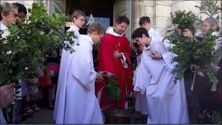 Messe des Rameaux et de la Passion 2017 Hosanna Béni soit celui qui vient au nom du Seigneur!