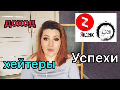 Два месяца на Яндекс Дзен/ первые результаты/ монетизация/ доходы/ хейтеры