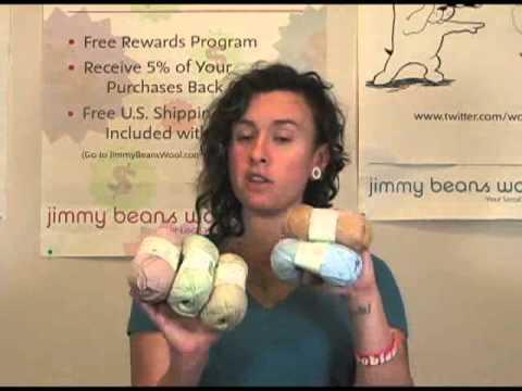 rowan purelife organic cotton 4 ply yarn review youtube