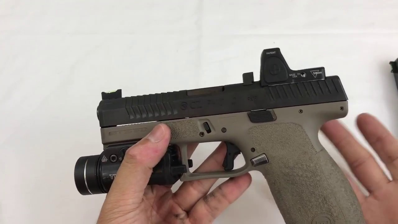 CZ P-10C - Possible FTF Fix, Sight Install
