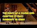 Class 10 English The Diary Of A Young Girl Chapter-13
