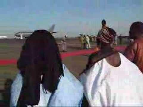 Michaelle Jean arrives in Mali