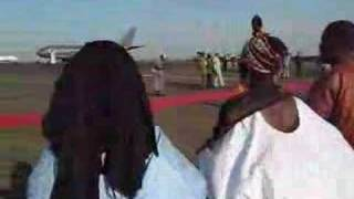 Michaelle Jean arrives in Mali