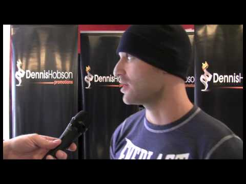 Ben Bradford interview before his Pro-Debut fight at Don Valley Stadium in Sheffield