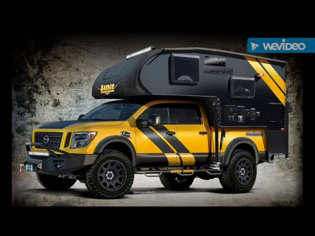 Nissan Pickup with Camper Kit