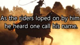Johnny Cash - Ghost Riders in the sky (Lyrics)