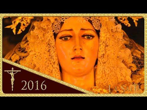 Santa María de Consolación de noche por Nervión - Hdad. de la Sed (Semana Santa - Sevilla 2016)