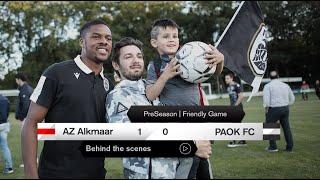 Η παρακάμερα του ΑΖ Alkmaar-ΠΑΟΚ - PAOK TV