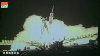 انطلاق ثلاثة رواد إلى محطة الفضاء الدولية