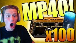 WE FINALLY GOT THE MP40!! (Advanced Warfare 100x Supply Drop Opening Gameplay)