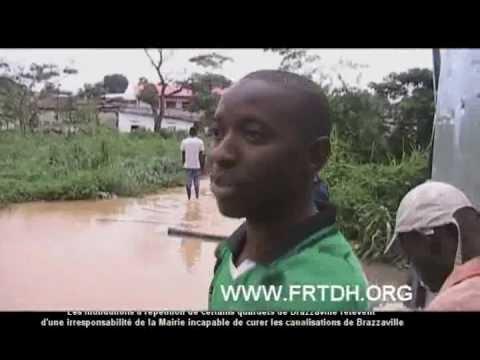 Les inondations de Brazzaville du 8/4/2011, conséquence d'une municipalisation hasardeuse (1/2)