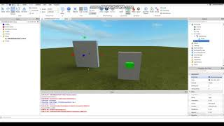 [ROBLOX] How to make a button that opens a Gate Tutorial