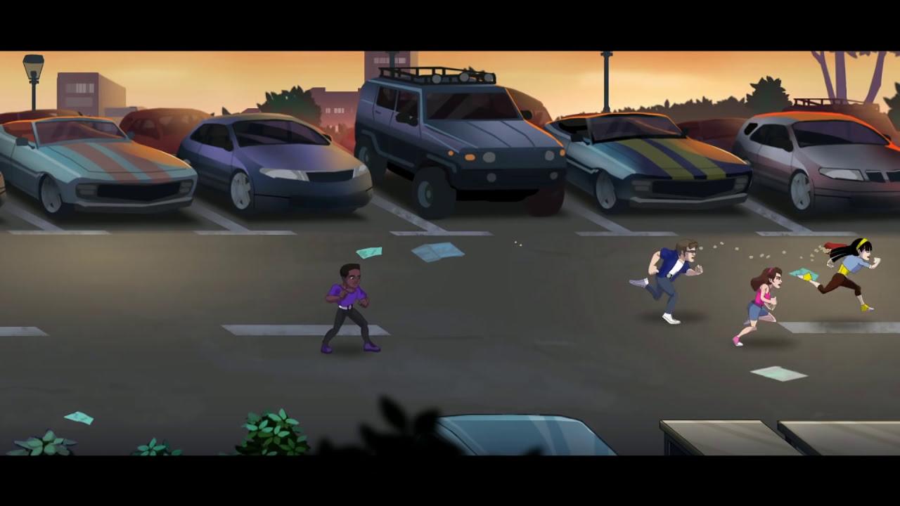 Mighty Morphin Power Rangers Mega Battle Level 2  as  Zack