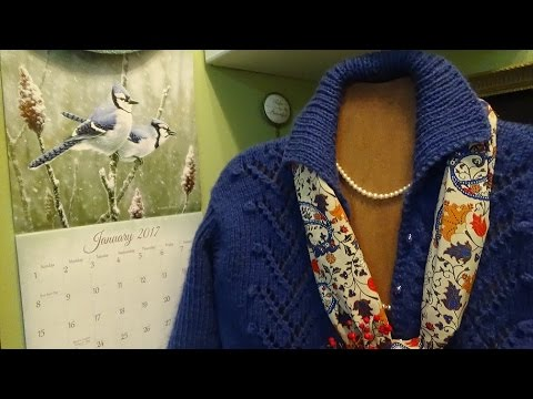 J's Knit - Free as a Bird Winter Sweater or Vest. EP. #58-1.
