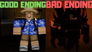 ROBLOX Haunted House l All 2 Endings