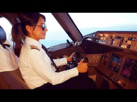 Female Pilot of AIR INDIA | Boeing 777
